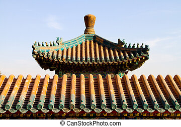 typical chinese ancient building