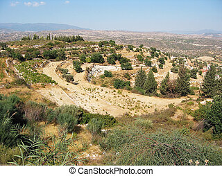 Typical Cyprian landscape