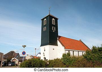 Typical Dutch church
