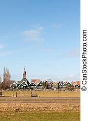 Typical Dutch village