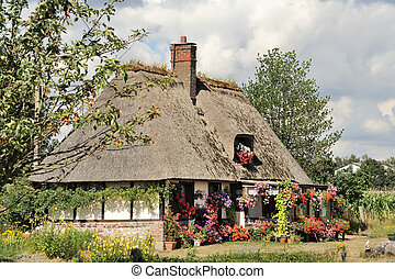 Typical French house in Normandy