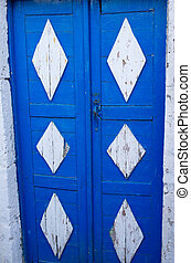 Typical greek door