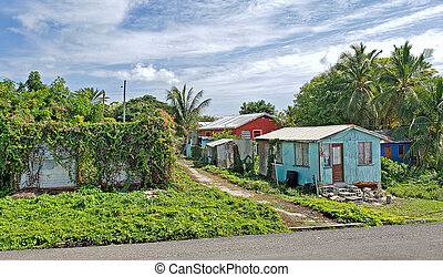 Typical Homes in Antigua and Barbuda