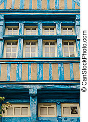 Typical House Rennes, French - Typical House timbered in...