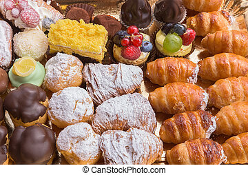 typical italian pastries mix - Typical italian pastries ...