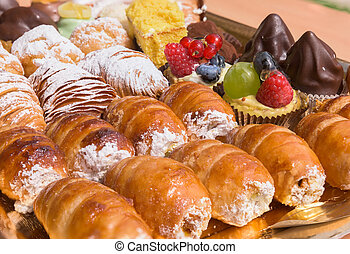 typical italian pastries - Typical italian pastries...