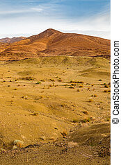 Typical landscape of southern Morocco. - Landscape of ...