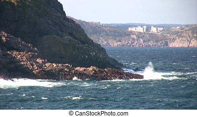 Typical Newfoundland coast line - c