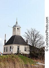 Typical old Dutch church