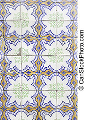 Typical old Lisbon tiles