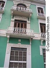 Typical Old San Juan Home
