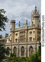 Typical oxbridge ancient university Building