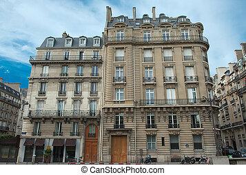 Parisian building - Typical Parisian building fa?ades
