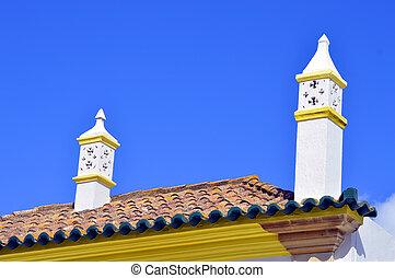 Portuguese chimney pots