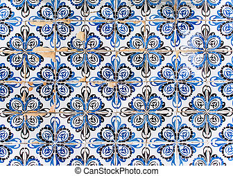 Typical portuguese tiles.