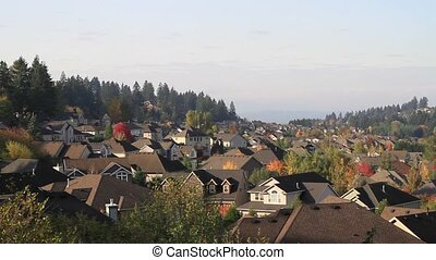 Typical Residential Suburban in Happy Valley Oregon 1080p...