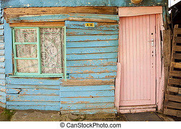 Typical shack in township