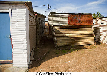 Typical township shack