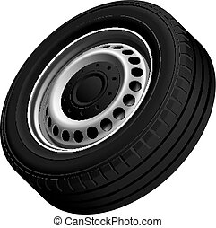 Typical vans wheel