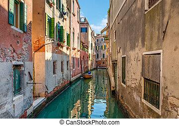 Typical venetian view.