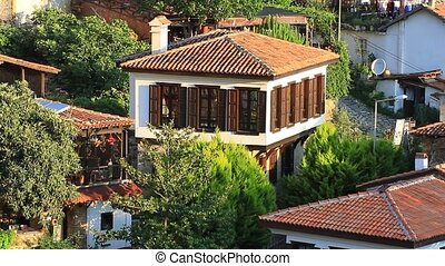 Typical village house in Anatolia - Architecture in Sirince...