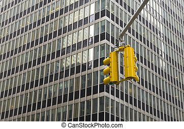 traffic lights in new york
