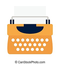 typing flat icon