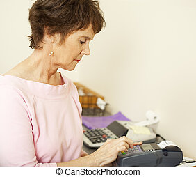 Typing in Credit Card Info