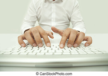 Typing on the Computer Keyboard