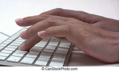 Typing - Canon HV30. HD 16:9 1920 x 1080 @ 25.00 fps....