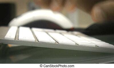 keyboard - typing wireless keyboard