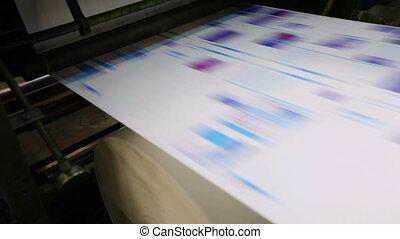 typoghraphy, praca, maszyna, druk, tłoczyć, rondel