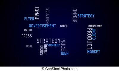 typografia, ożywienie, -, reklama