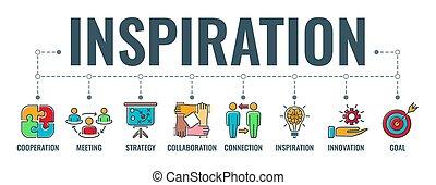 typographie, inspiration, bannière, collaboration