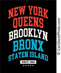 Typography Design For T-shirt Graphic, Vector Image
