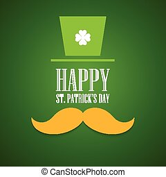 Typography St. Patricks Day. Vector - St. Patrick Day poster...