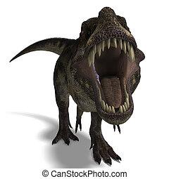 tyrannosaurus の rex
