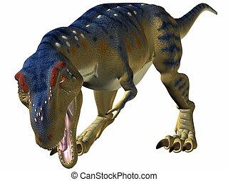 Tyrannosaurus-Bite - 3D Render