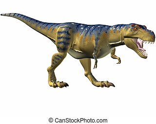 Tyrannosaurus-Catch - 3D Render
