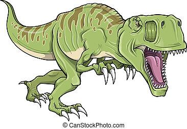 Tyrannosaurus Dinosaur Vector