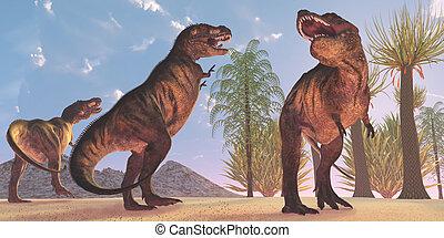 Tyrannosaurus Dinosaur Wilderness