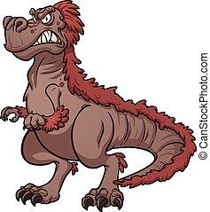 tyrannosaurus, fâché