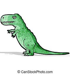 tyrannosaurus rex, caricatura