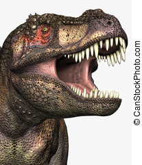 Tyrannosaurus Rex Closeup - Tyrannosaurus Rex closeup ...