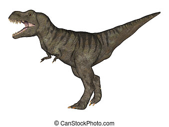 Tyrannosaurus Rex - 3D digital render of a Tyrannosaurus Rex...