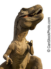 Tyrannosaurus Rex isolated in white, T-Rex