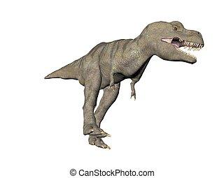 Tyrannosaurus Rex - An illustration of the dinosaur...