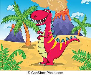 tyrannosaurus, rysunek