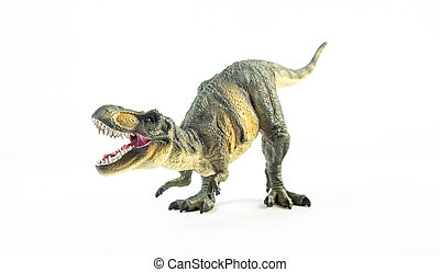 tyrannosaurus, t-rex, 白い背景
