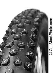 tyre, 車輪, 冬, 自転車
